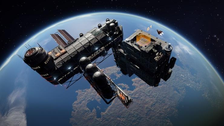 Elite Dangerous space