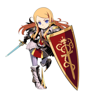 Etrian knight