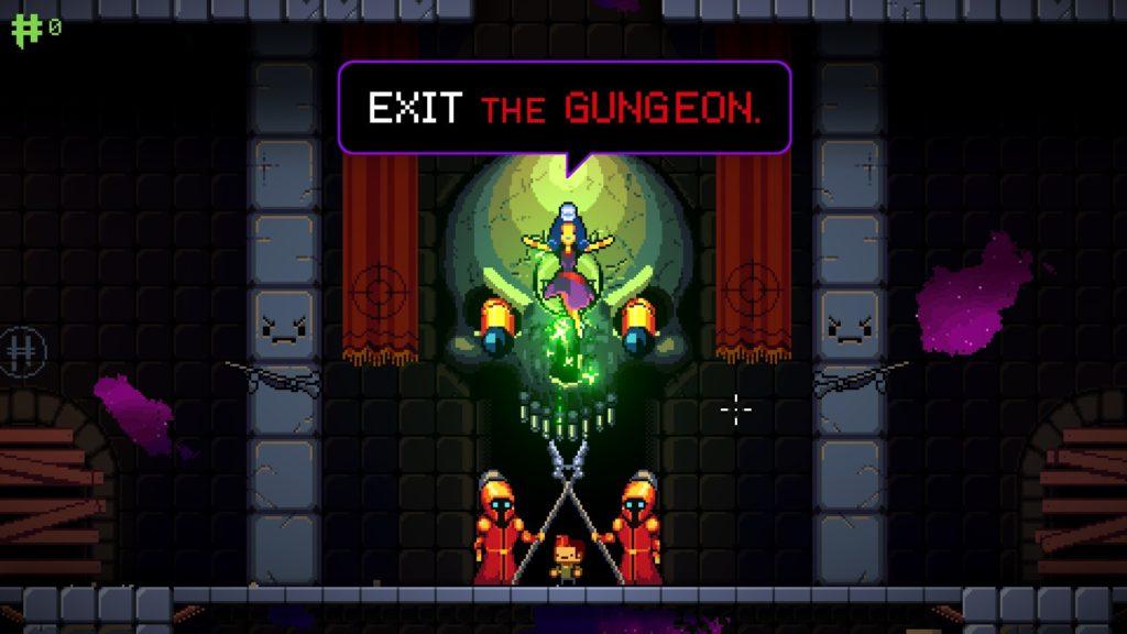 A screenshot of Exit the Gungeon
