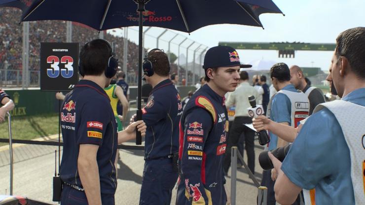 F1 2015 - Broadcast