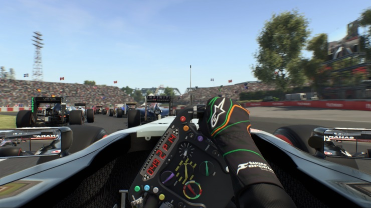 F1 2015 - Cockpit view