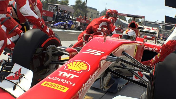 F1 2015 - Pit