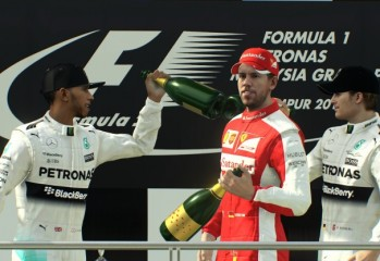 F1 2015 Podium Places