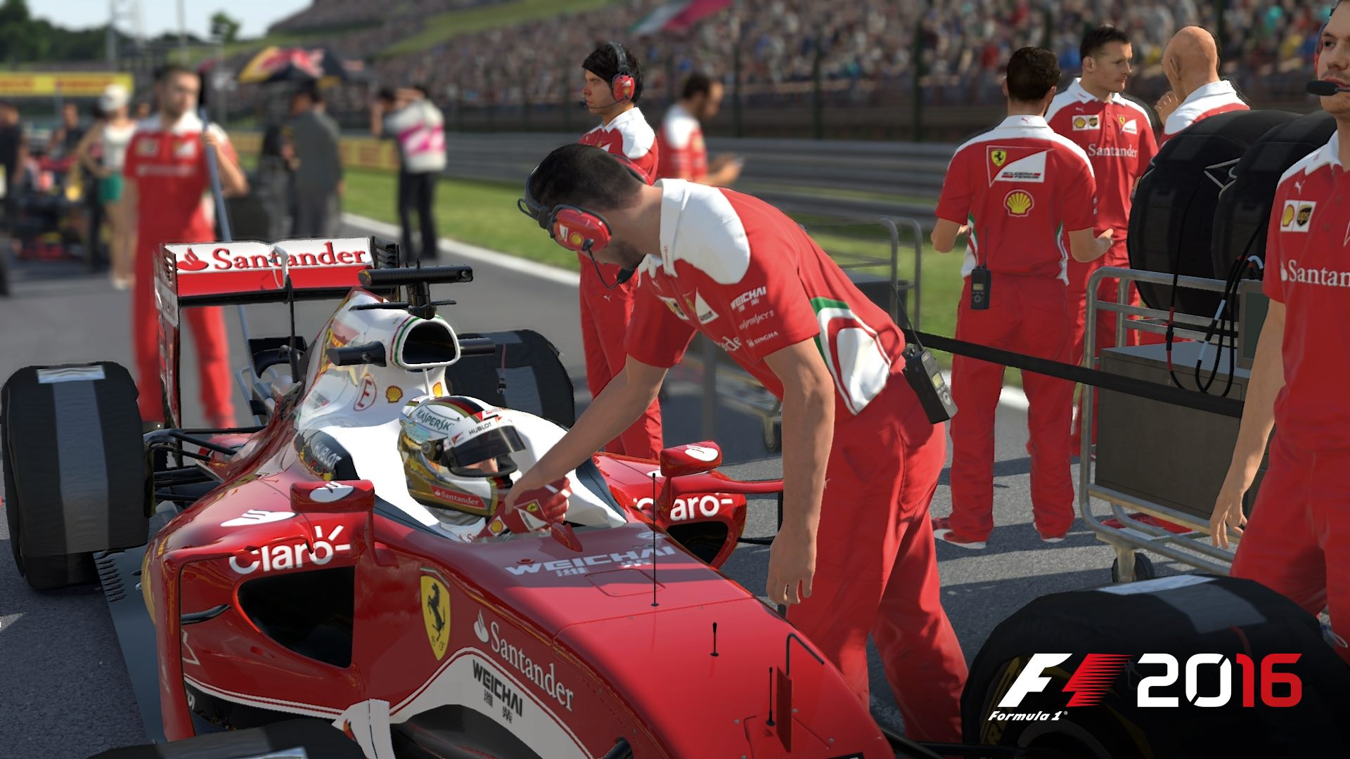 F1 2016 pit stop