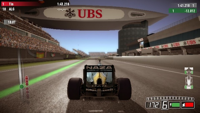 F1 2011 Vita - Home Straight Shanghai