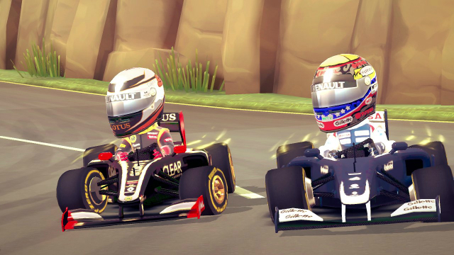 F1 Race Stars - Screenshot 01
