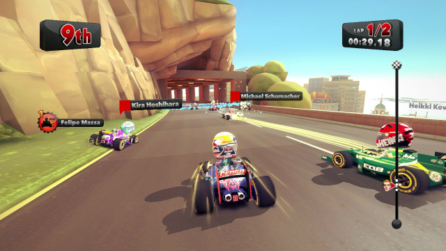 F1 Race Stars - Screenshot 02