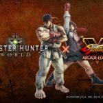 Monster Hunter: World gets a Street Fighter V: Arcade Edition collaboration