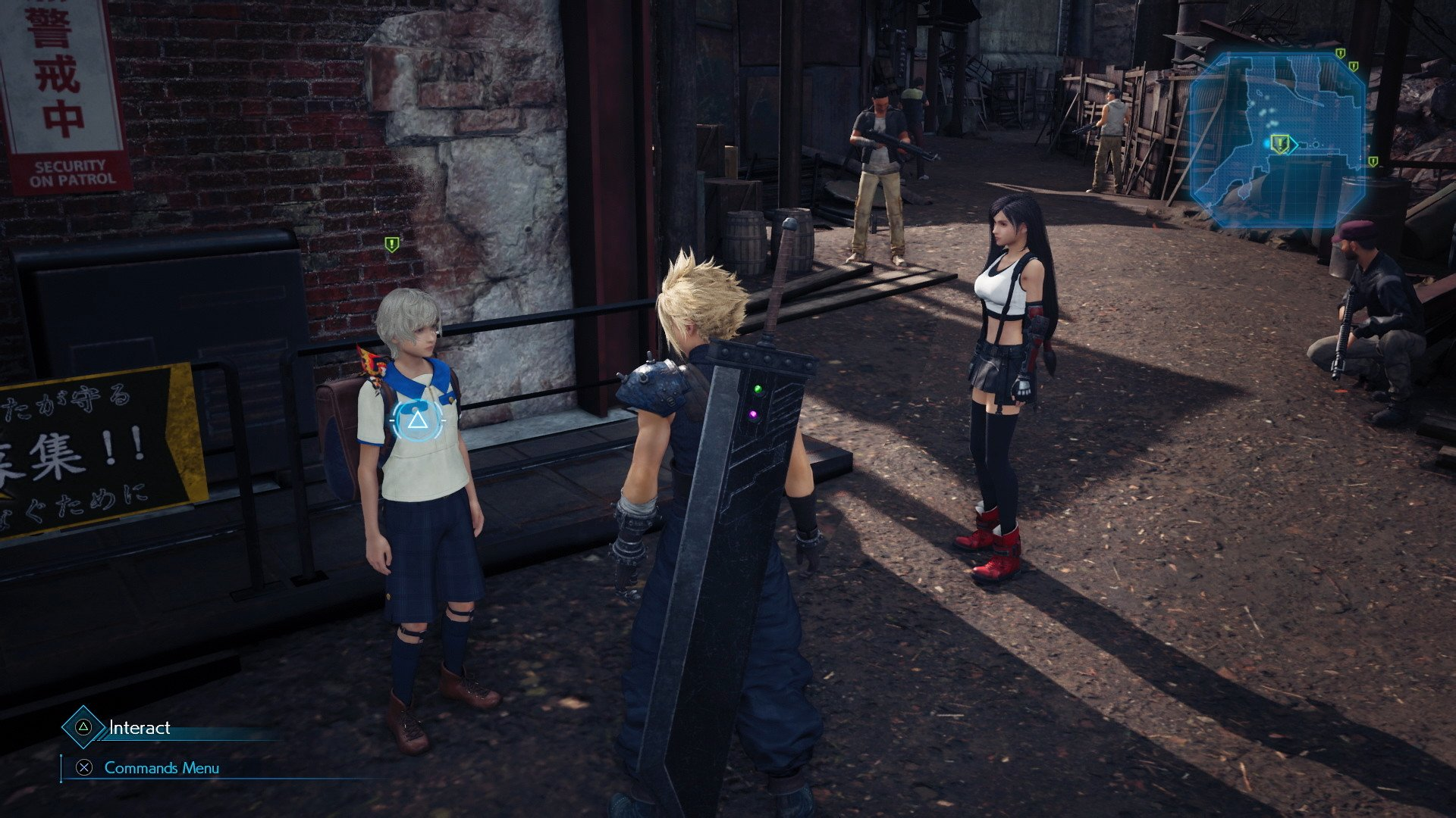 There are new side quests in the remake