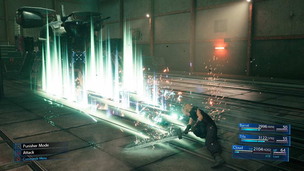 Combat is amazing in Final Fantasy 7 Remake