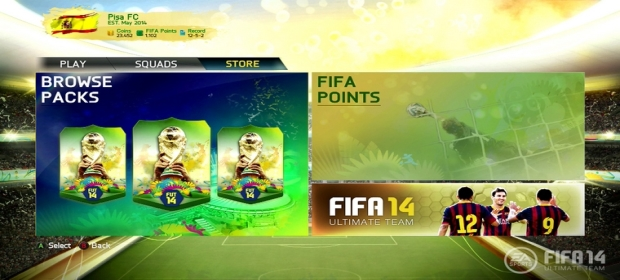 FIFA 14 Ultimate Team: World Cup Delayed