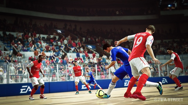 FIFA Street - Chelsea Vs. Arsenal in New York