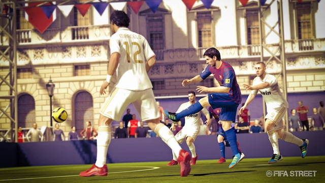 FIFA Street - Messi in Action in London