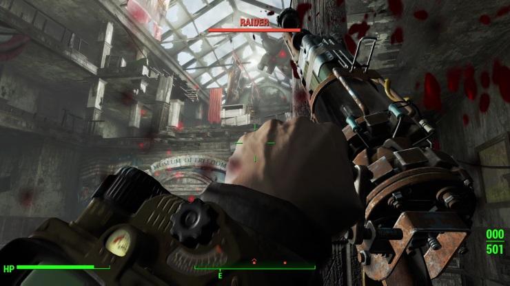 Fallout 4 - combat