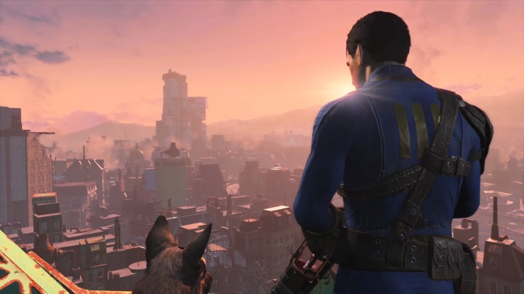Fallout 4 review - one man and his dog