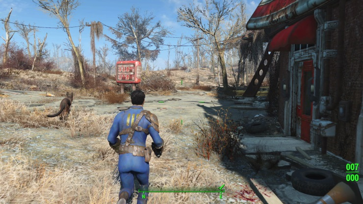 Fallout 4 - third person