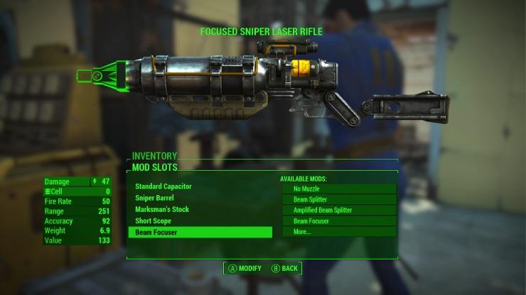 Fallout 4 - weapon mod