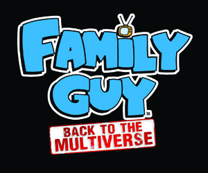 Brian and Stewie Point Guns at Chickens in New Family Guy: Back to the Multiverse Screens