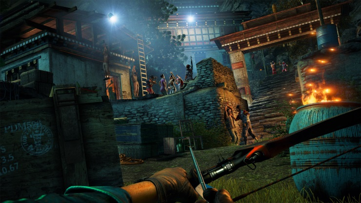 Far Cry 4 review - bow and arrow