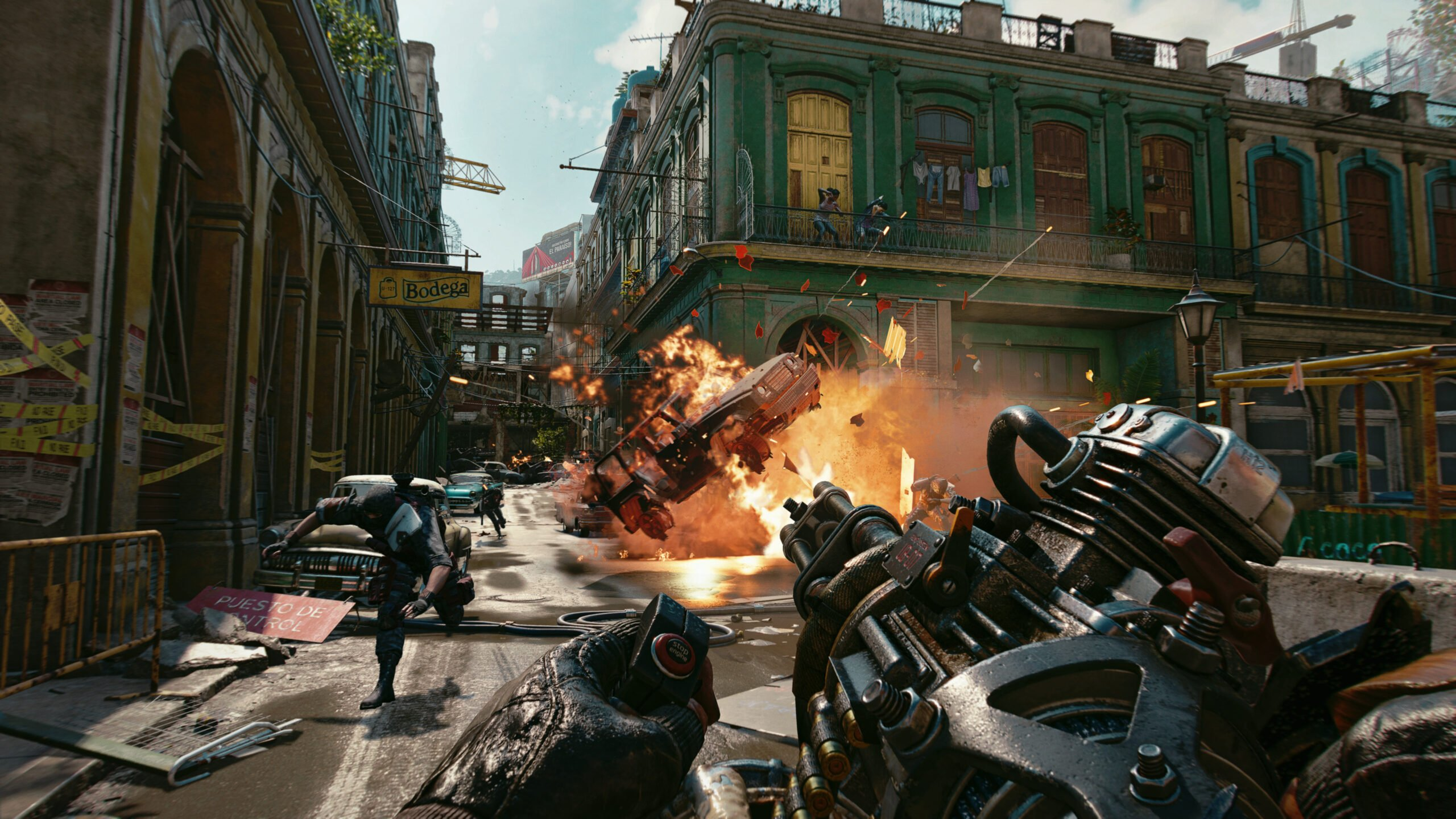 Far Cry 6 Explosions in Yara