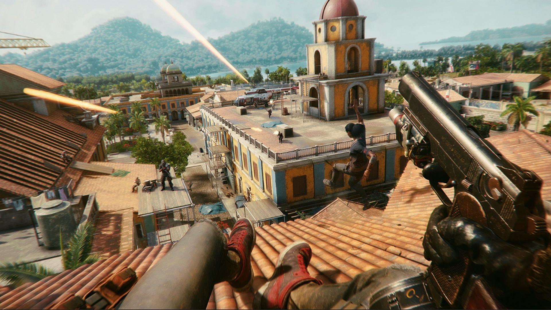 Far Cry 6 Free-running