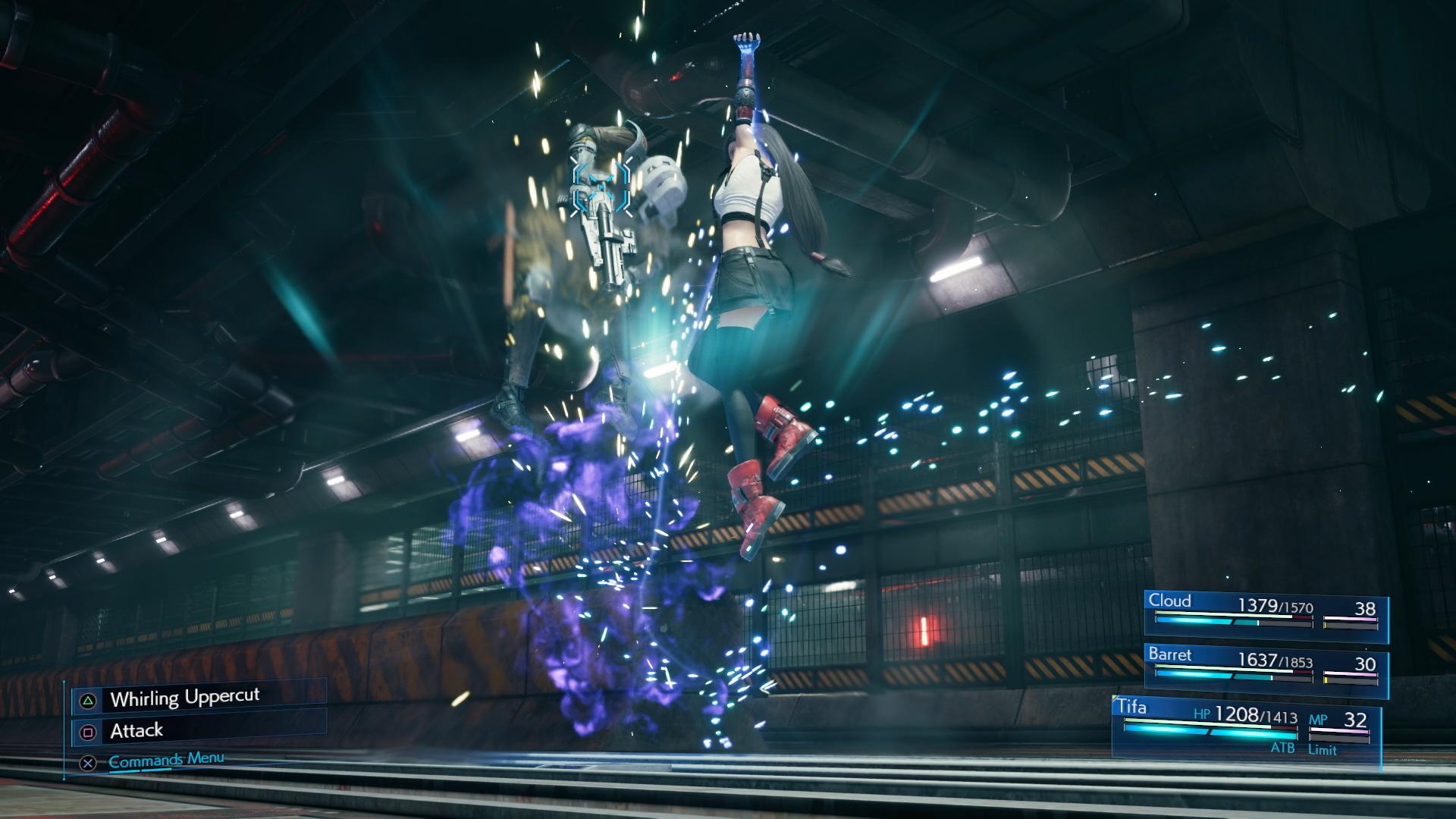 Final Fantasy VII Remake - Tifa Uppercut
