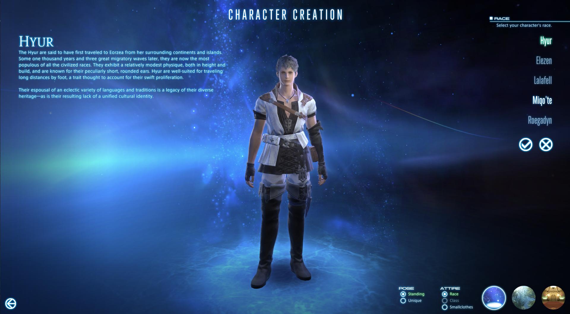 Final Fantasy XIV Character Creation - GodisaGeek com