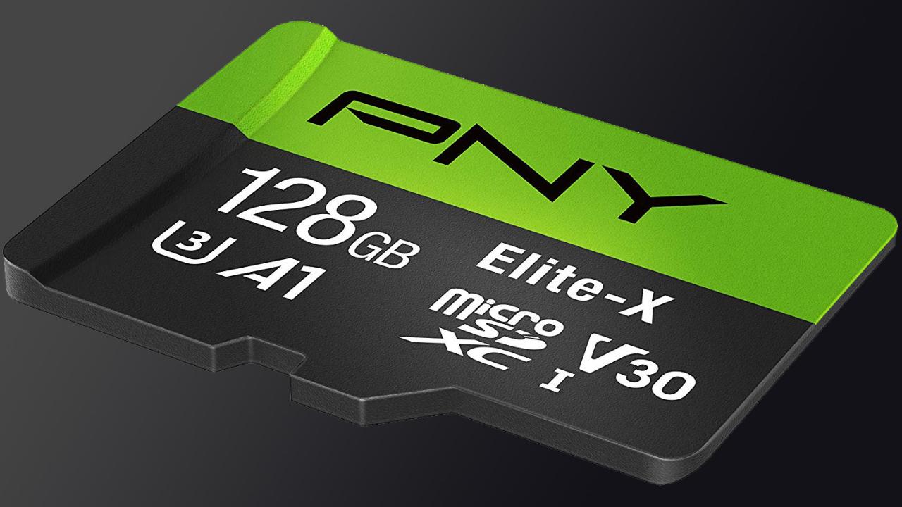 PNY 128GB microSDXC Flash Card