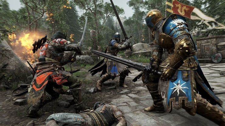 For_Honor_Screen_Harrowgate_OvercastSamuraiBadOdds_E3_150615_4pmPST_1434397094