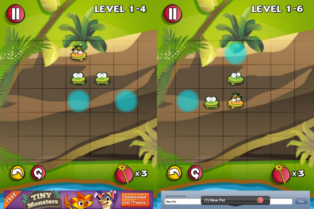 Froggies - Screenshot