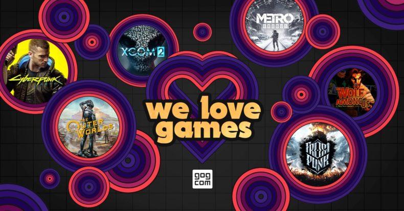 GOG We Love Games Sale News