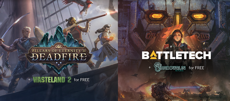 GOG pre-orders of Pillars of Eternity II or BATTLETECH get