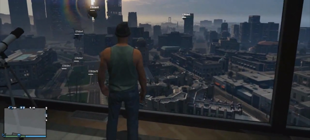 Grand Theft Auto V Multiplayer Revealed