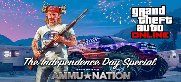 GTA V Gets Independence Day Update