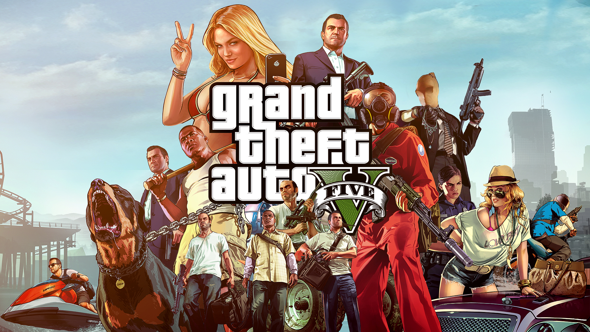 Grand Theft Auto V (PC) Review - GodisaGeek.com