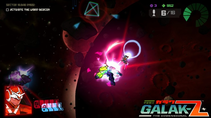 Galak-z ps4 screenshot review