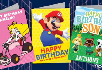 Gaming greetings cards