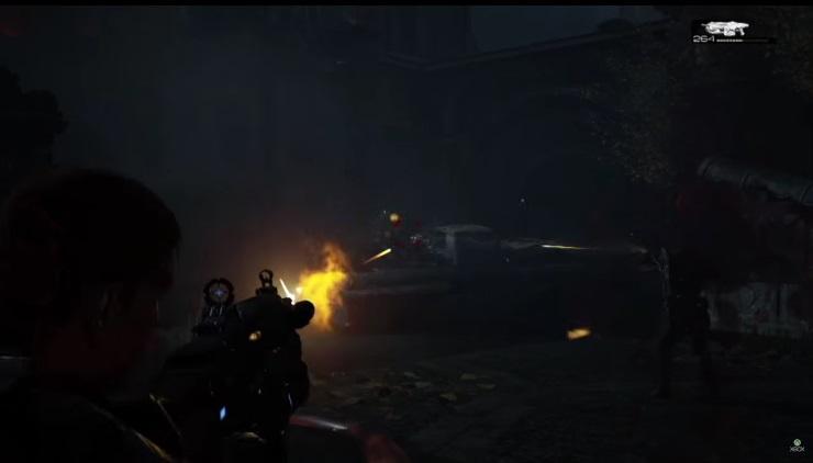 Gears 4 trailer screengrab 3 - shooting