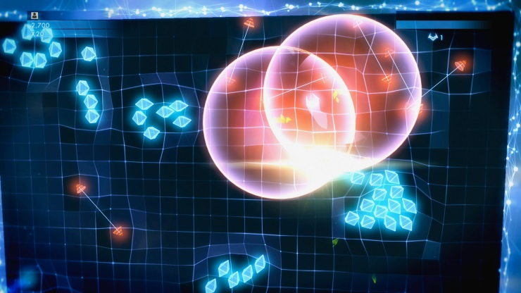 Geometry Wars 3 - classic mode
