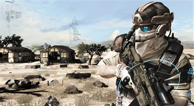 Ghost Recon: Future Soldier - Ghost Pose