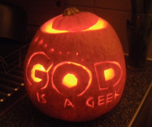 Happy Halloween from GodisaGeek.com