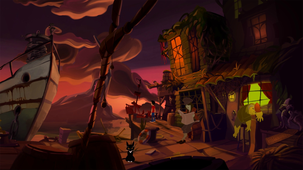 Gameplay evokes a host of Lucasarts classics