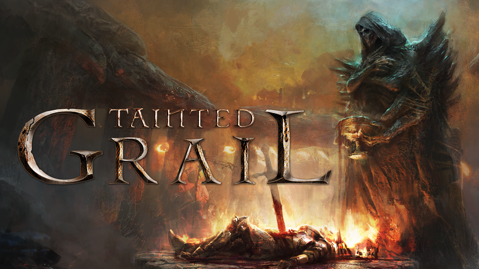 Tainted Grail is grimdark Baldur's Gate with deck-building – and it's great