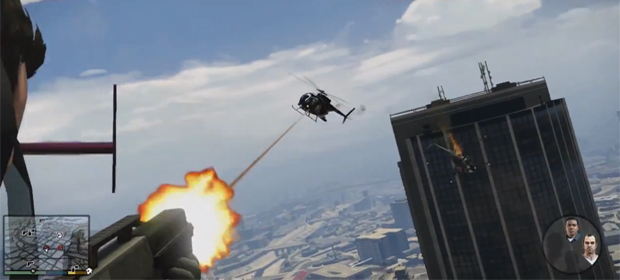 Grand Theft Auto V Gameplay Trailer Released