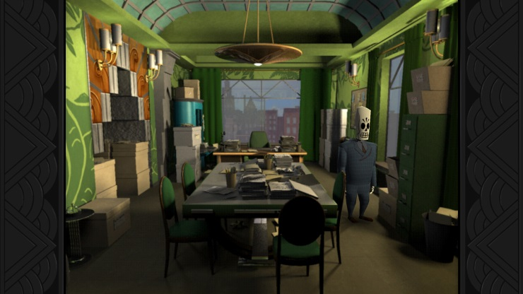 Grim Fandango review screenshot
