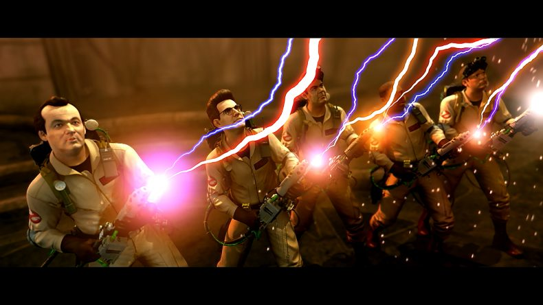 Ghostbuster team streams