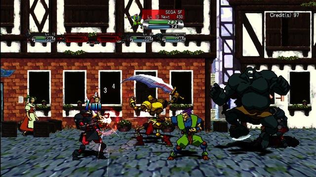 Guardian Heroes - Town Battle