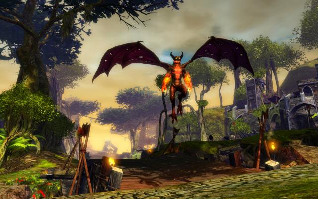 Guild Wars 2 - Fire Imp