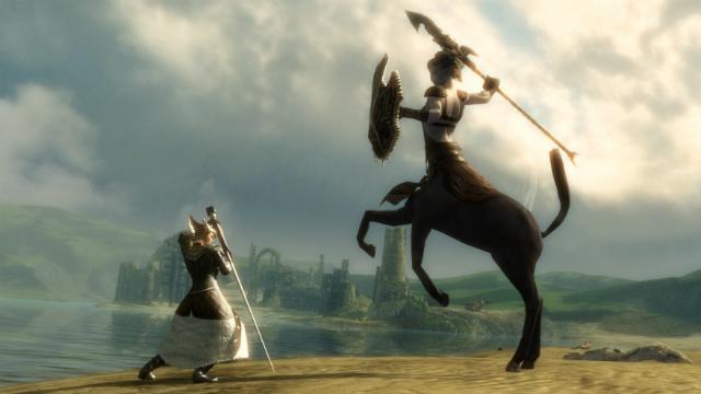 Guild Wars 2 - Ranger Vs. Centaur