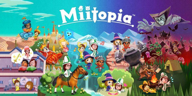 Miitopia title image